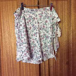 Supre floral wrap skirt