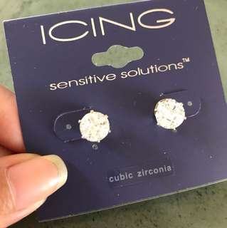 Sparkling earrings