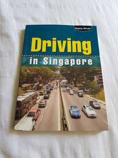 Almost New Driving In Singapore Textbook