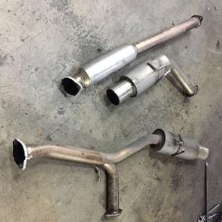 Trust PE II Exhaust for Evo X