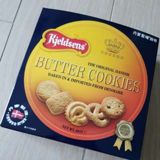 全新 new butter Cookies 籃罐曲奇
