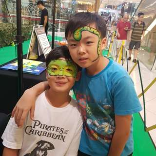 Face Painting 🐉🐍
