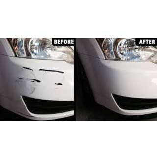 CAR DENT AND SCRATCH REPAIR