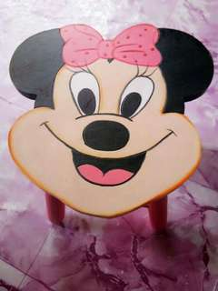 Minnie MouseWooden Stool