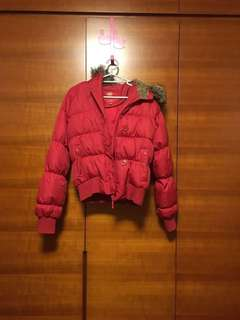 Edc down jacket red