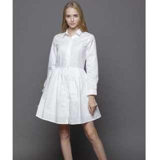 Attic + Willow White Dress