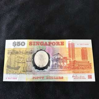 Commemorative $50 Polymer