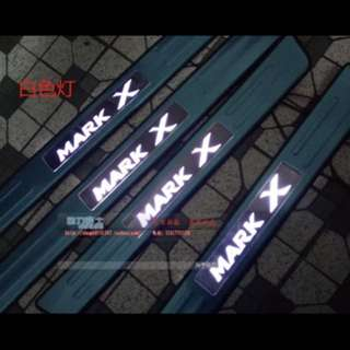 Toyota mark x door sill led