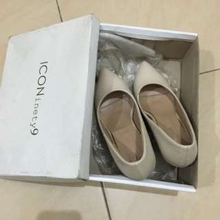 ICON NINETY9 HEELS WHITE