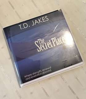 Charity Sale! The Secret Place by T.D. Jakes 4 Audio Digital CD