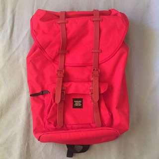 Herschel Red Back Pack