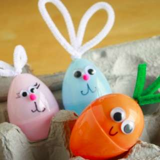 Easter Egg Craft Party Kids