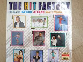 80s pop and disco music Hit Factory Vol 2 Best of stock Aitken Waterman kylie Monigue Jason Donovan Bananarama Sinitta Rick Astley  mambo