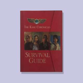 Kane Chronicles: Survival Guide by Rick Riordan (YA)