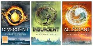 EBOOKS: DIVERGENT SERIES