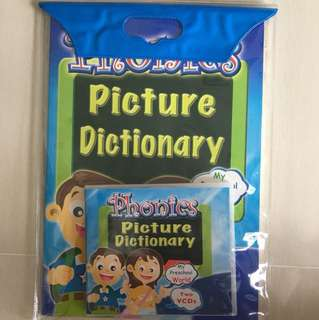 Phonics learning with 2 VCDs