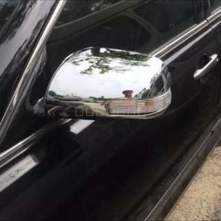 Toyota mark x chrome mirror cover