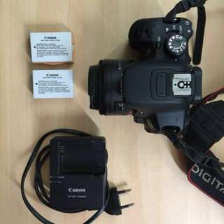 Canon 700D body only