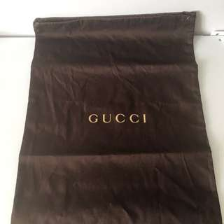 Gucci shoes bag