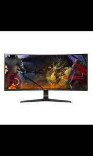 "LG 34UC89G 34"" ultra wide IPS Curved 14mhz Gaming Monitor"