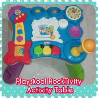 Playskool Bilingual RockTivity Activity Table