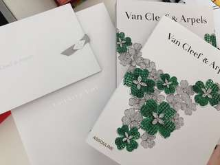 Van Cleef & Arpels Collector's Book with cover and packaging