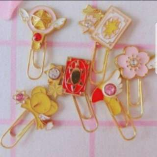 Card Captor Sakura Cute Metal Paper Clip