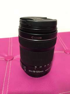 Canon 18-135mm f3.5-5.6 IS stm