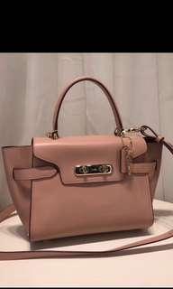 Original coach women swagger handbag crossbody bag sling bag