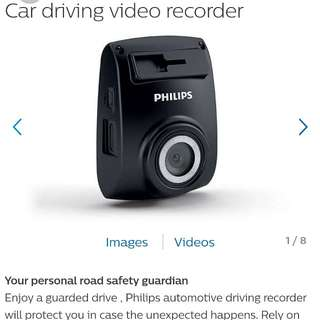 Phillips in car video recorder