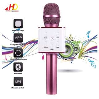 Karaoke bluetooth wireless  microphone