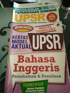 All books. UPSR & UPKK
