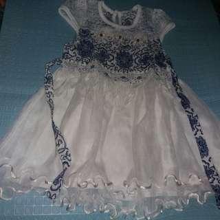 #MakinTebel Gaun Batik Cantik