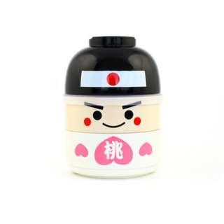 JAPAN HAKOYA KOKESHI BENTO/LUNCH BOX MOMOTARO M SIZE