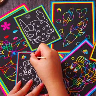 Scratch Art Party Kids