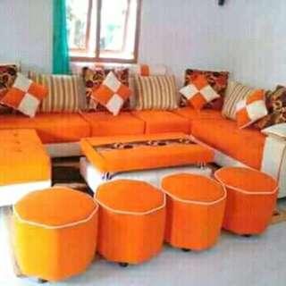Sofa duduk ruang tamu