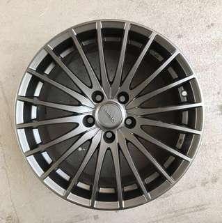 "Used 17"" Original MAK Rims"