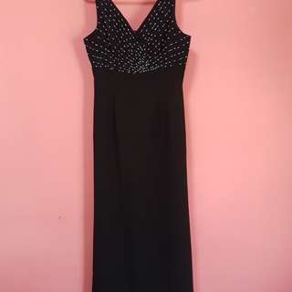 Brand New Simple and classy black long dress. MOTHERS DAY PROMO