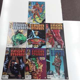 Heroes Reborn Iron Man (2006 Marvel) Comics Set