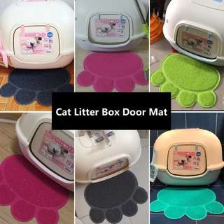 Cat Litter Box Door Mat