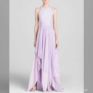 Alice and Olivia purple dress
