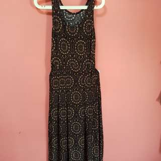 Simple prints maxi dress. Condition 8/10