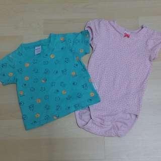 Baby wear combo set (H&M+baby kiko)