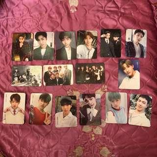 Monsta x photocards
