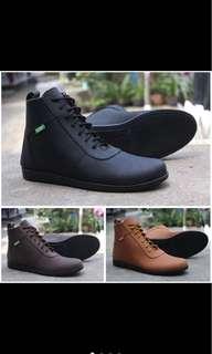Sepatu kickers casual brodo/ sepatu kickers brodo