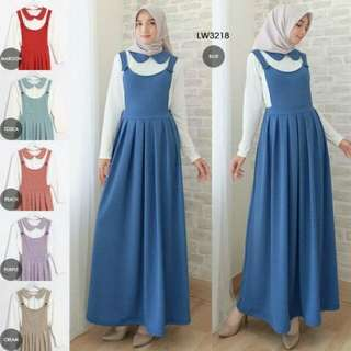 OVERALL SET SCALLOP LW3218