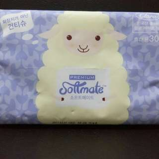 Softmate portable tissue