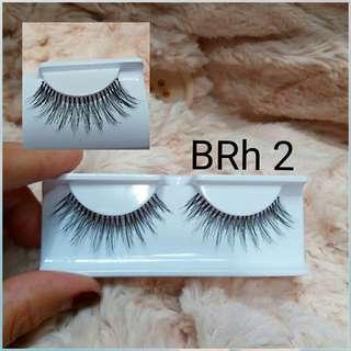 6 pasang Bright Human Hair Eyelash(isi 6 pairs)