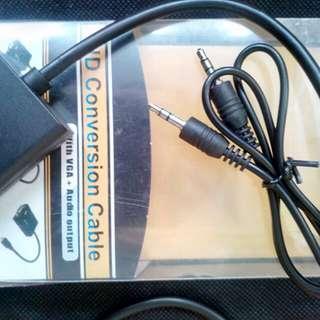 Mini HDTV (HDMI with VGA + Audio Output