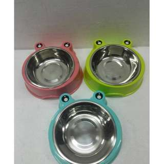 Single Frog bowl eith stainless